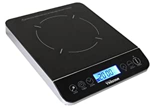 Tristar IK-6174 hobs - Placa (Mesa, indución eléctrica, Negro, Electrónico, Sensor, 3,07 kg)