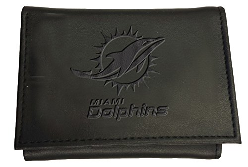 Team Sports America Miami Dolphins Tri-Fold Wallet