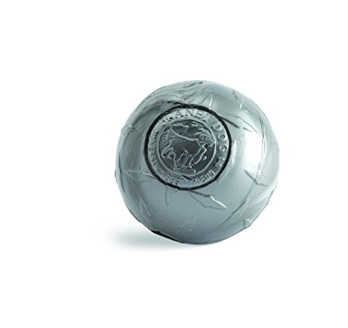 Planet Dog Orbee – Tuff Diamond Plate Dog Ball Nearly Indestructible Dog Chew Toy, Made in the USA, 3-inch, Silver Review