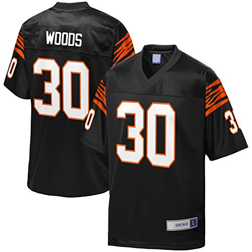 CNFTUI Men's_Ickey_Woods_Black_Retired_Player_Jersey