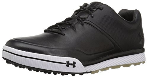 (Under Armour Men's Tempo Hybrid 2 Golf Shoe Black (001)/Steel 12)