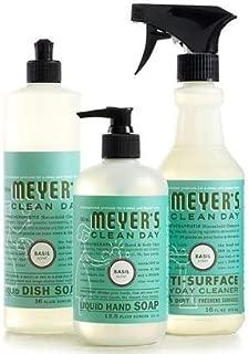 product image for Mrs. Meyers Clean Day Basil Kitchen Basics Set