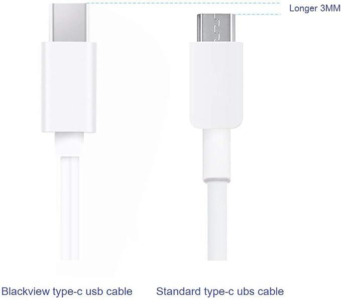Amazon.com: Blackview Cable USB tipo C para Blackview bv8000 ...