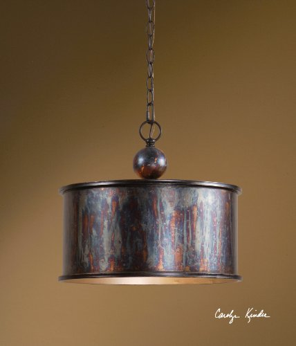 Metal Pendant Chandelier - 1 Light ()
