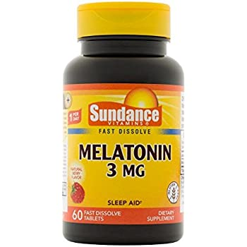 Amazon.com: Solaray Melatonin-3 with Valerimint Supplement, 3 mg, 30 ...