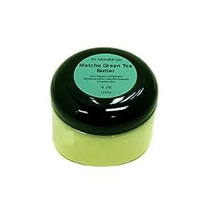 4 Oz Green Tea Matcha Butter Refined Organic 100% Pure