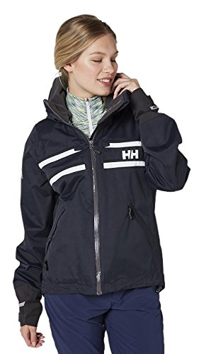 Helly Hansen Women's Salt Rain and Sailing Jacket, Navy, Medium