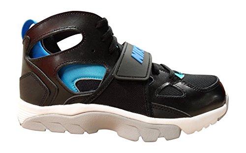 Nike Børn Træner Huarache (gs) Uddannelse Sko Sort Foto Blå Sort 044 MMlaO8W