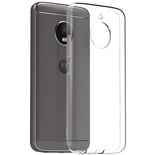 YOFO Soft Clear Back Cover For Motorola Moto E4 Plus  Transparent