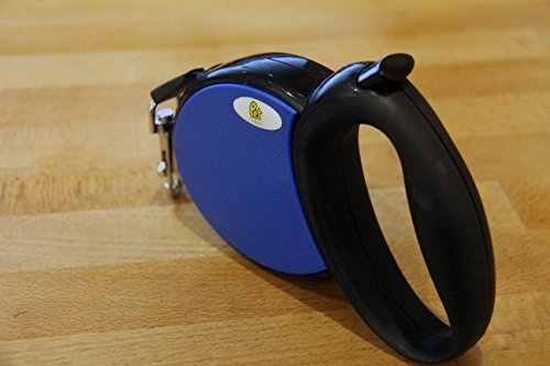 Retractable Dog Leash (Blue, Small-Medium) Old Version