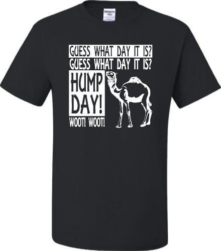 XX-Large Black Adult Hump Day Camel Commercial T-Shirt