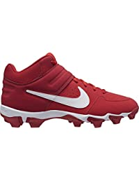 Mens Alpha Huarache Varsity Keystone Mid Molded Baseball Cleat