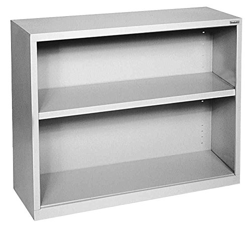 Sandusky Lee BA10341230-07 Elite Series Welded Bookcase, 12 x 30 x 36 , Putty