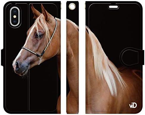 ブレインズ iPhone 11 手帳型 ケース カバー サラブレッド D 競馬 競走馬 乗馬 カッコいい JC