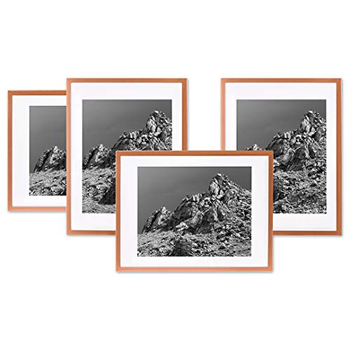 Amazon Com Koyal Wholesale Rose Gold Gallery Wall Frames