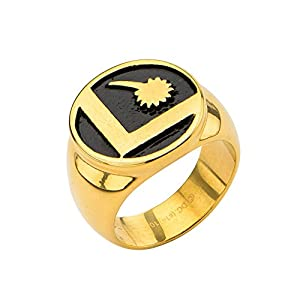 DC Comics Legion Of Superheroes Logo Ring