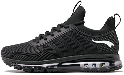 with mastercard cheap online ONEMIX Men's Running Shoes Air Cushion Breathable for Walking Shoes with Sports Outdoor Sneakers Black outlet enjoy view online discount shop for sale view 74IUKRAx