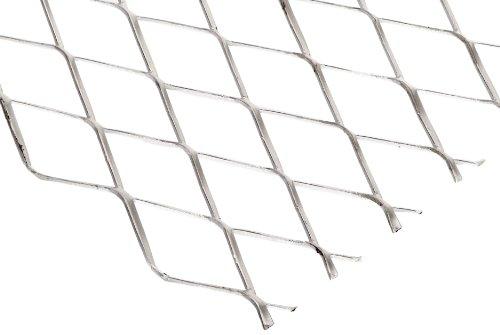 - 3003 Aluminum Raised Expanded Sheet, Unpolished (Mill) Finish, 48