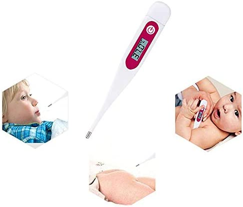 Rectal beb/és o ni/ños para Axilas Mojin Term/ómetros corporales Digitales m/édicos m/édicos LCD Temporal term/ómetro Oral Impermeable para Adultos