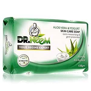 Dr. Neem Aloevera & Yogurt Skin Care Soap - 125 gm