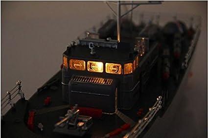 Amazon com: Warship Radio Remote Control Fish Torpedo Boat with