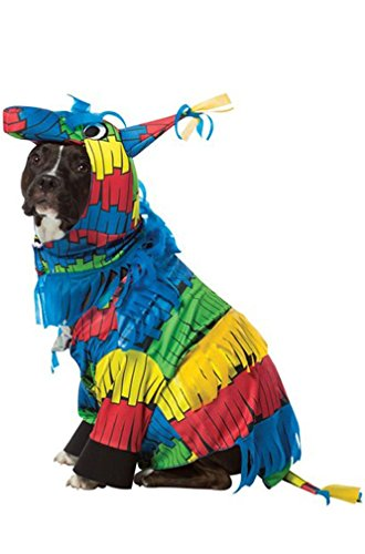 [8eighteen Festive Pinata Party Dog Pet Costume] (Pinata And Bat Costume)