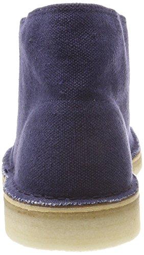 Uomo Fabric Desert Navy Clarks Boot Blu Stivali d1twnqYxg