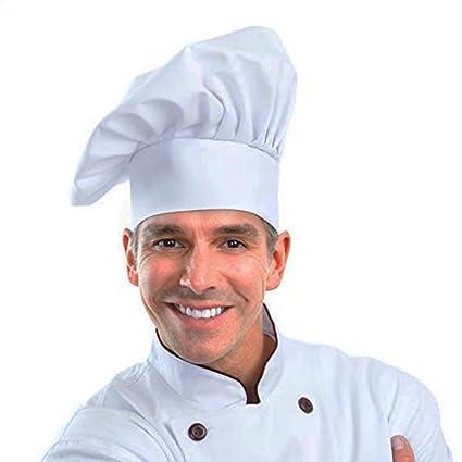 Greemosi Chef Cappello Taglia Regolabile Mushroom Chef Hat per Pasticceria  da Cucina Chef Works (Bianco) da  Amazon.it  Casa e cucina 70eede8c6b71