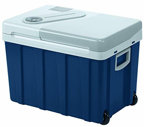 Mobicool W40, thermo-elektrische Kühlbox mit Rollen, 39 Liter, 12/24 V und 230 V für Auto, Lkw, Steckdose, Energieklasse A++