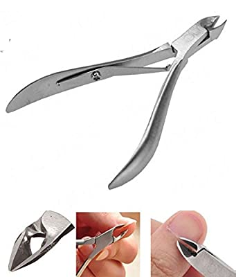 H-Honetuk Toenail Toe Ingrown Nail Art Cuticle Nipper Clipper Edge Cutter Manicure Trimmer Scissor Plier Tool Pedicure Dead Skin Remover
