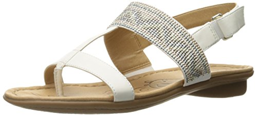 naturalizer white sandals - 5