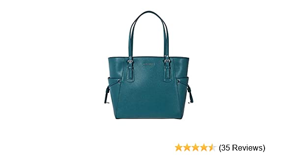 476155c5b08e Amazon.com: Michael Kors Voyager Crossgrain Leather Totecer Leather  Crossbody: Michael Kors: Shoes