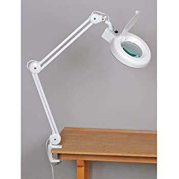 Superb Fluorescent, Swing Arm Magnifying Lamp