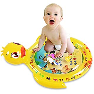 YBQZ Tummy Time Baby Water Mat Infant Toys Inflatable Playmat for 3 6 9 12 Moths Newborn Boys Girls