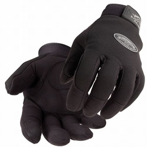 BLACK STALLION Tool Handz PLUS Reinforced Snug-Fitting Gloves - Synthetic - LARGE