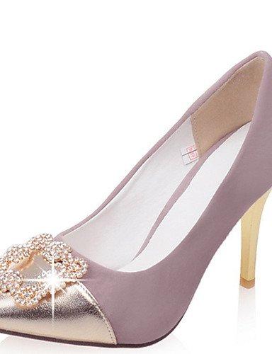 GGX/ Damen-High Heels-Kleid / Lässig / Party & Festivität-PU-Stöckelabsatz-Absätze / Spitzschuh-Schwarz / Lila / Rot purple-us10.5 / eu42 / uk8.5 / cn43