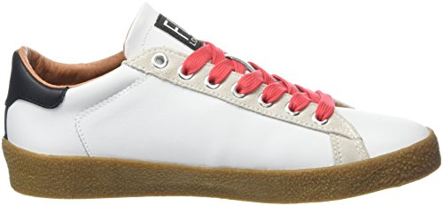 redlaces London FLY Sneakers Beige 002 Damen White Weiß Berg823fly qFwfA0q