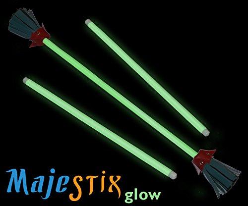 Majestix Glow in the Dark Juggling Devil Sticks by Jolly Lama! (Image #1)