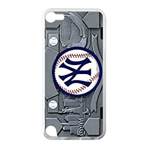 Hoomin Abstract New York Yankees Ipod Touch 5 Cell Phone Cases Cover Popular Gifts(Laster Technology)