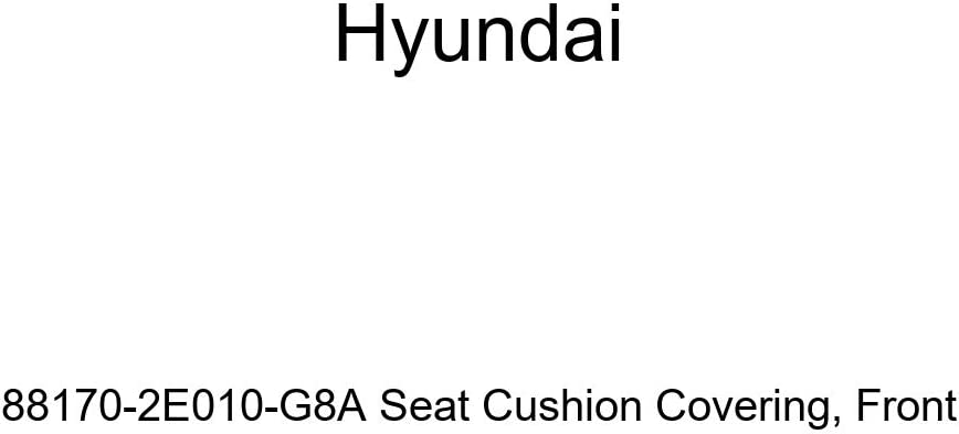 Genuine Hyundai 88170-2E010-G8A Seat Cushion Covering Front