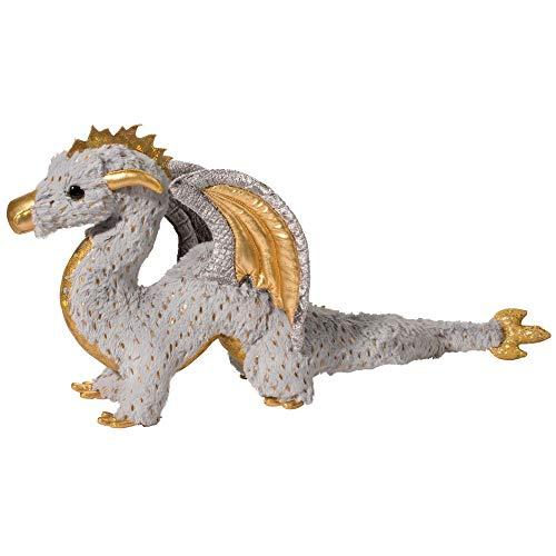 Douglas Cuddle Toys Midas Gold Fleck Dragon 22 inch - Stuffed Animal (730) ()