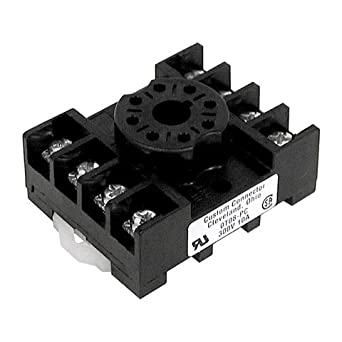 8 pin cube relay diagram 12v 8 pin octal relay wiring oto8-pc 8 pin octal relay socket, screw terminal: amazon ...