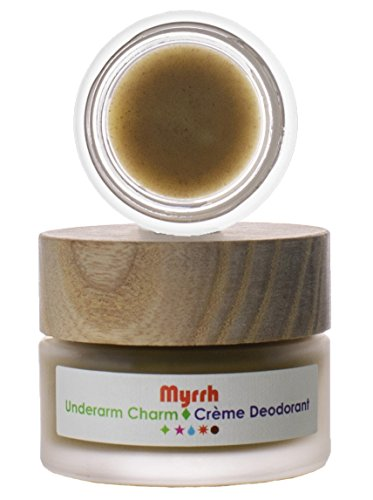 Living Libations - Organic/Wildcrafted Myrrh Underarm Charm Cream Deodorant (30 ml)