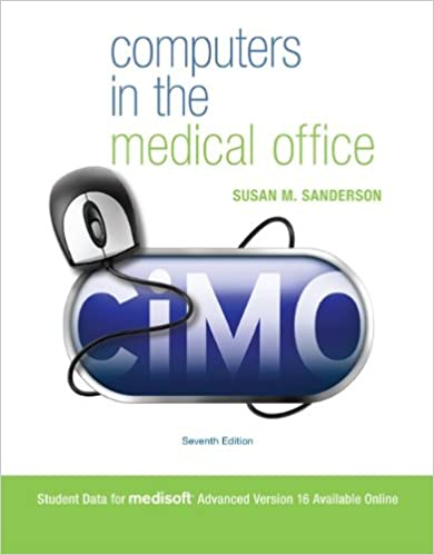 Computers in the medical office 9780073374604 medicine health computers in the medical office 9780073374604 medicine health science books amazon fandeluxe Gallery