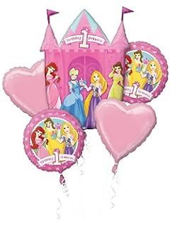 Disney Princess 1st Balloon Bouquet