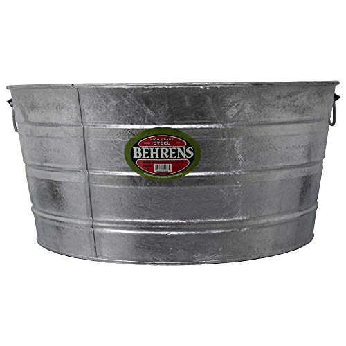 Behrens 3 17 Gallon Round Hot Dipped Steel