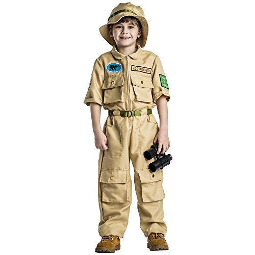 Zookeeper Kids Costume - Size Small (4 to 6 Years) - Zookeeper Costumes
