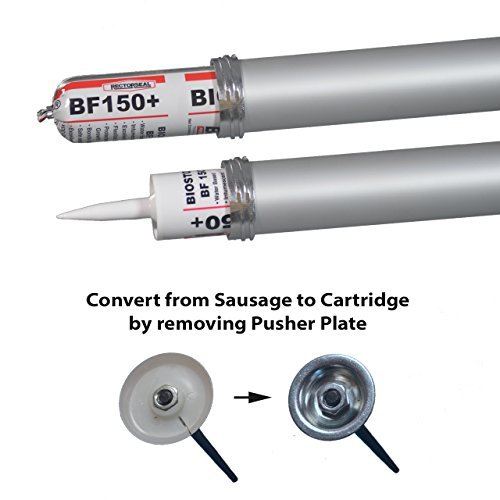 Sausage Caulk Gun, 20 oz Foil Pack/10 oz Cartridge Convertible, 18:1 Thrust, AWF-Pro by AWF-Pro (Image #1)