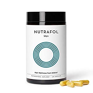 Nutrafol Men Hair Growth Supplement for Thicker, Stronger Hair (4 Capsules Per Day - 1 Month Supply)