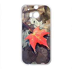 Fallen Maple Leaves Fashion Personalized Phone Case For HTC M8